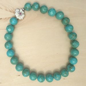 Chunky Turquoise Stella and Dot Bloom Necklace